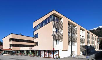 Hotelgebäude von Aussen