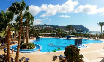 Poolbereich Clubanlage