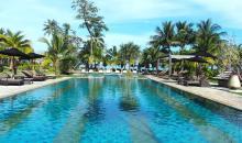 Poolbereich im Khao Lak