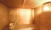 Sauna im Spabereich