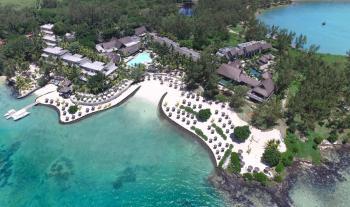 Luftaufnahme Sensimar Laggon Mauritius