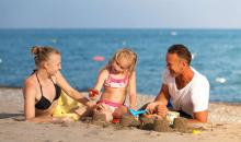 Familie im Best Family Belek Beach Resort