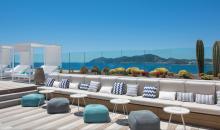 Terrasse mit Sitzen