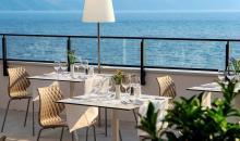 Restaurant mit Blick auf das Meer