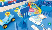 Kinder Spielbereich