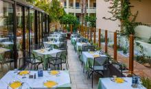Restaurant mit Außenterasse