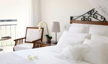 Romantisches Doppelbett
