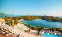 Türkisblaues Meer Griechenland