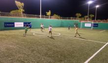 Fußball mit den Kids