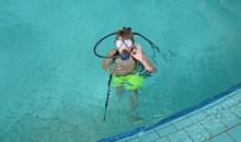 Tauchkurs im Pool