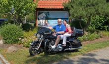 Clubdirektor Roland und Birgit