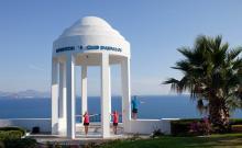 Der Turm vom Robinson Club Daidalos