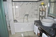 Badbereich in der Suite