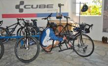Bike-Station im Club Daidalos auf Kos