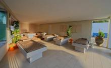Ruhezone mit Wasserbetten