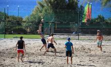 Beachvolleyball in Kos