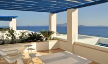 Balkon mit traumhaften Blick auf das Meer