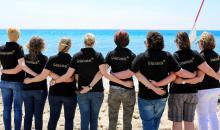 Das Team von Cluburlaub.de am Strand