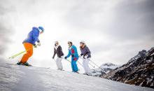 Skikurs in der Alpenrose Zürs