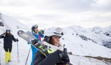 Skifahren in der Alpenrose
