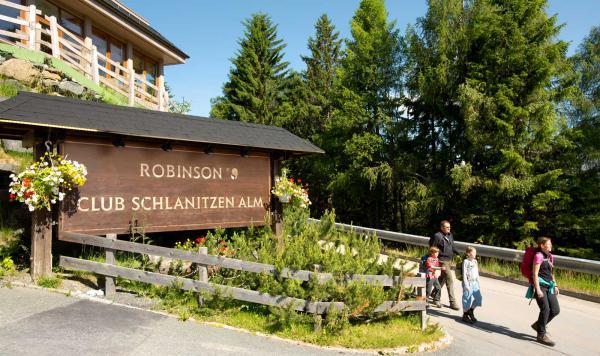 Willkommen im Robinson Club Schlanitzen Alm
