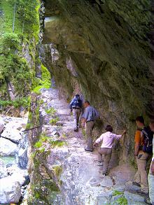 Felsen Klettern