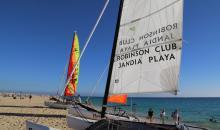 Segeln im Jandia Playa