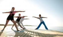 Sportprogramm  an der frischen Luft