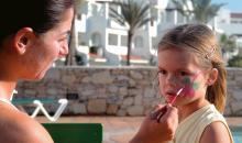 Gesichtsbemalung für Kinder