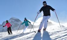 Ausflug auf Skiern
