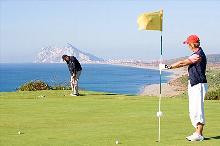Golfen mit Panoramablick
