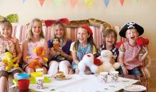 Kinderparty im Grecoland