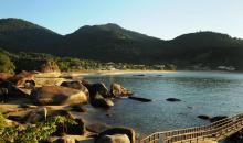 Strand von Rio das Pedras