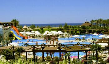 Blick auf Club-Resort