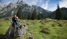 Wanderurlaub mit Kind