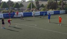 Spaß beim Fußball spielen