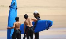 Surfen im Club