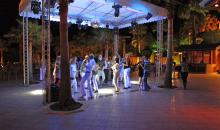 Tanzen am Abend