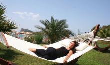 Relaxen in der H�ngematte