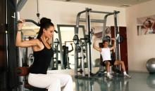 Fitnessbereich im Robinson Club