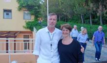 Clubdirektor Stevie und Birthe