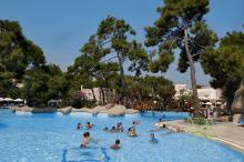 Poolbereich im Urlaub