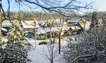 Club im Winter