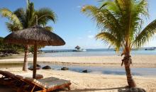 Strand von Mauritius