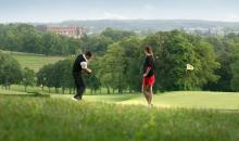 Golfen im Grünen