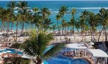 Pool mit Strandblick