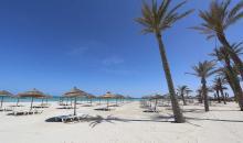 Traumstrand im Djerba Bahiya
