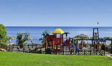 Spielplatz direkt am Strand