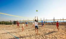 Beachvolleyball im TUI BLUE Palm Garden