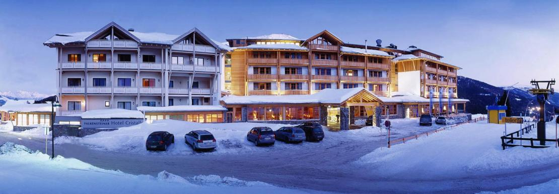 Falkensteiner Hotel Cristallo im Winter